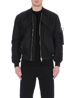 GIVENCHY Panelled bomber jacket