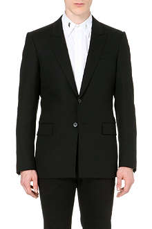 GIVENCHY Band-detail stretch-wool suit jacket