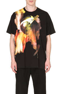 GIVENCHY Blurred-print t-shirt