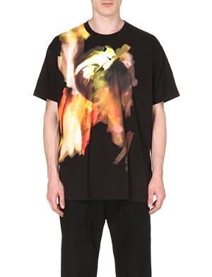 GIVENCHY Blurred-print t-shirt