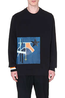 GIVENCHY Appliquéd sweatshirt