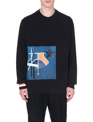 GIVENCHY Appliquéd sweatshirt