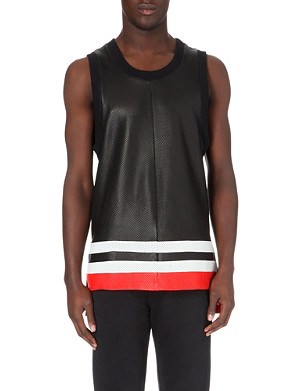 GIVENCHY Perforated leather vest
