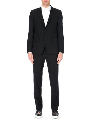 GIVENCHY Brushed-wool single-breasted suit