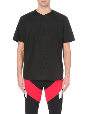 GIVENCHY 17 cotton baseball shirt