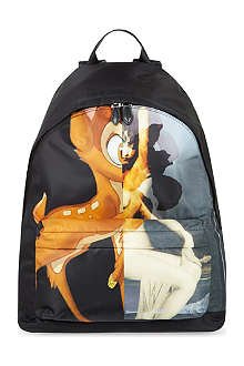 GIVENCHY Bambi print backpack
