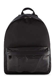 GIVENCHY 17 embossed leather pocket backpack