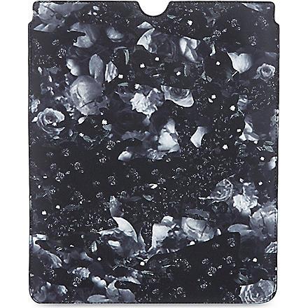 GIVENCHY Rose camo print iPad case (Black