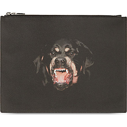 GIVENCHY Rottweiler iPad cover (Black