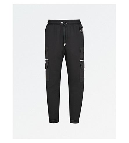 GIVENCHY Cargo neoprene track pants (Black