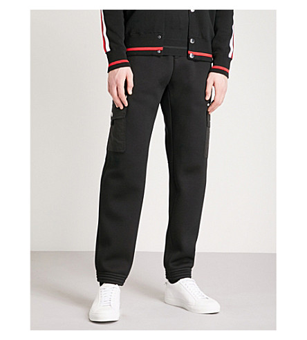 GIVENCHY Cargo neoprene jogging bottoms (Black