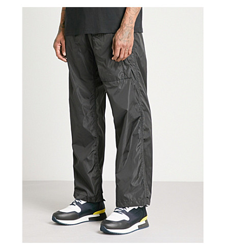 GIVENCHY Relaxed-fit shell cargo trousers (Black