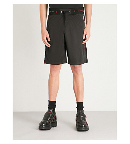 trim Velvet sports jersey trim GIVENCHY Velvet shorts sports Black GIVENCHY ZXxIqF