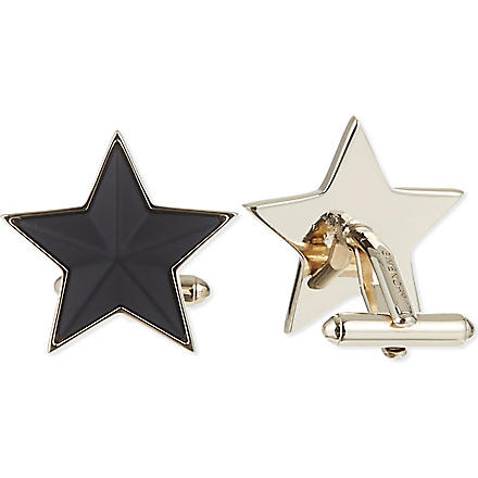 GIVENCHY Star cufflinks (Black