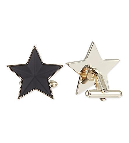 GIVENCHY Star cufflinks (Black
