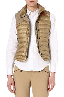RALPH LAUREN Channel-quilted down gilet