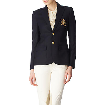 RALPH LAUREN Custom blazer (Greenwich+navy