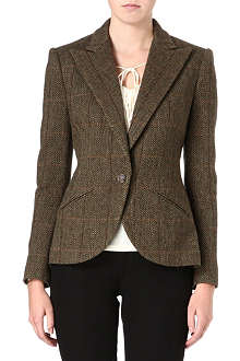 RALPH LAUREN Herringbone wool jacket