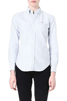 RALPH LAUREN Megan Oxford striped shirt