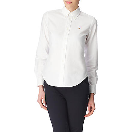RALPH LAUREN Megan Oxford shirt (White