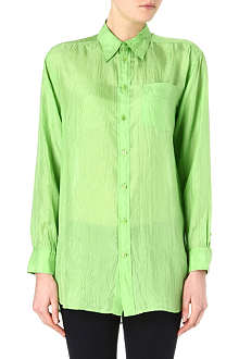 RALPH LAUREN Candie silk-satin shirt