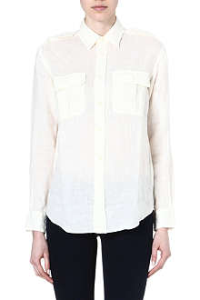 RALPH LAUREN Killan safari linen shirt