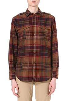 RALPH LAUREN Zara checked shirt