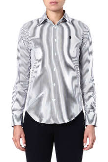 RALPH LAUREN Stretch-cotton striped shirt