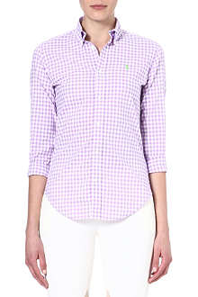 RALPH LAUREN Chelsea check shirt