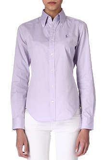 RALPH LAUREN Alessa slim-fit shirt
