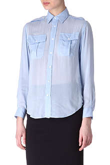 RALPH LAUREN Sheer Pippa shirt