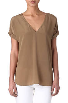 RALPH LAUREN Linda silk top