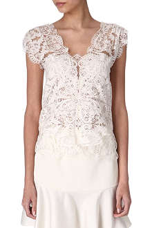 RALPH LAUREN Elisa lace top
