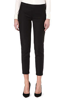 RALPH LAUREN Cropped slim-fit trousers