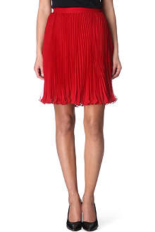 RALPH LAUREN Pipa pleated chiffon skirt