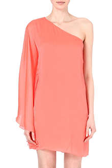 RALPH LAUREN Marcella one-shoulder dress