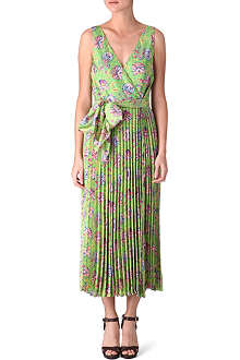 RALPH LAUREN Calter silk wrap dress