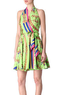 RALPH LAUREN Printed silk dress