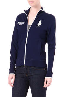 RALPH LAUREN Wimbledon zip-up top
