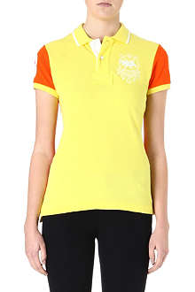 RALPH LAUREN Two-tone polo shirt
