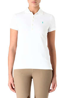 RALPH LAUREN Long-placket polo shirt