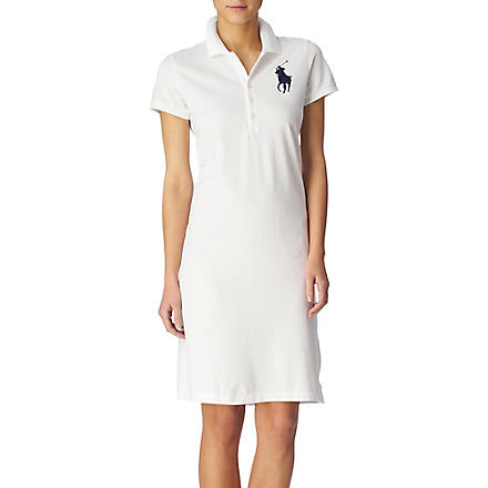 RALPH LAUREN Polo dress (White