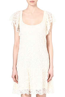 RALPH LAUREN Becket lace shift dress