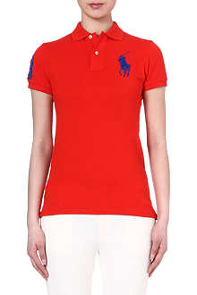 RALPH LAUREN Skinny-fit polo shirt