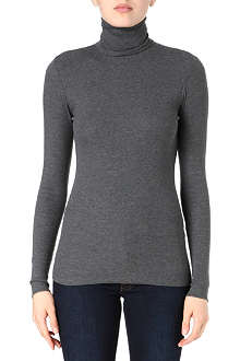 RALPH LAUREN Thin ribbed knitted jumper