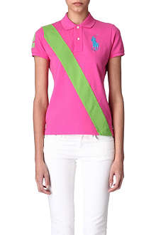 RALPH LAUREN Stripe polo shirt