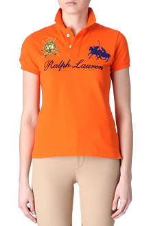 RALPH LAUREN Signature Dual Match polo shirt