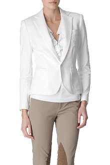 RALPH LAUREN Alexa cotton blazer