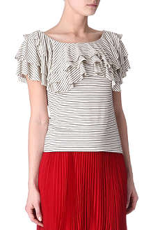 RALPH LAUREN Doris ruffled top