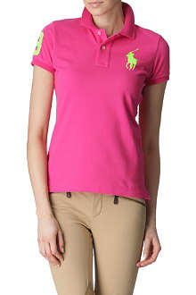 RALPH LAUREN Neon polo shirt